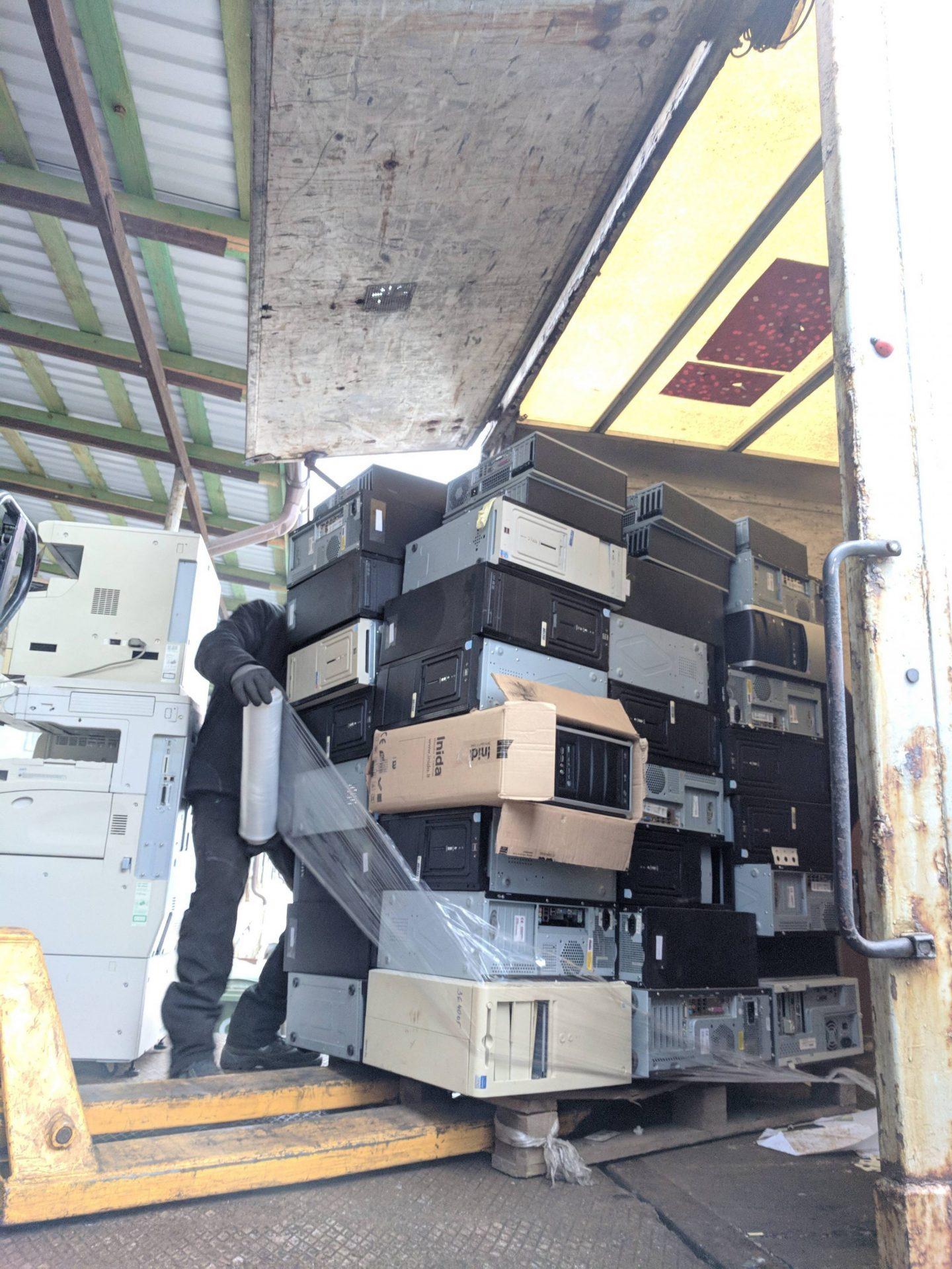 Elektronikos atliekų surinkimas